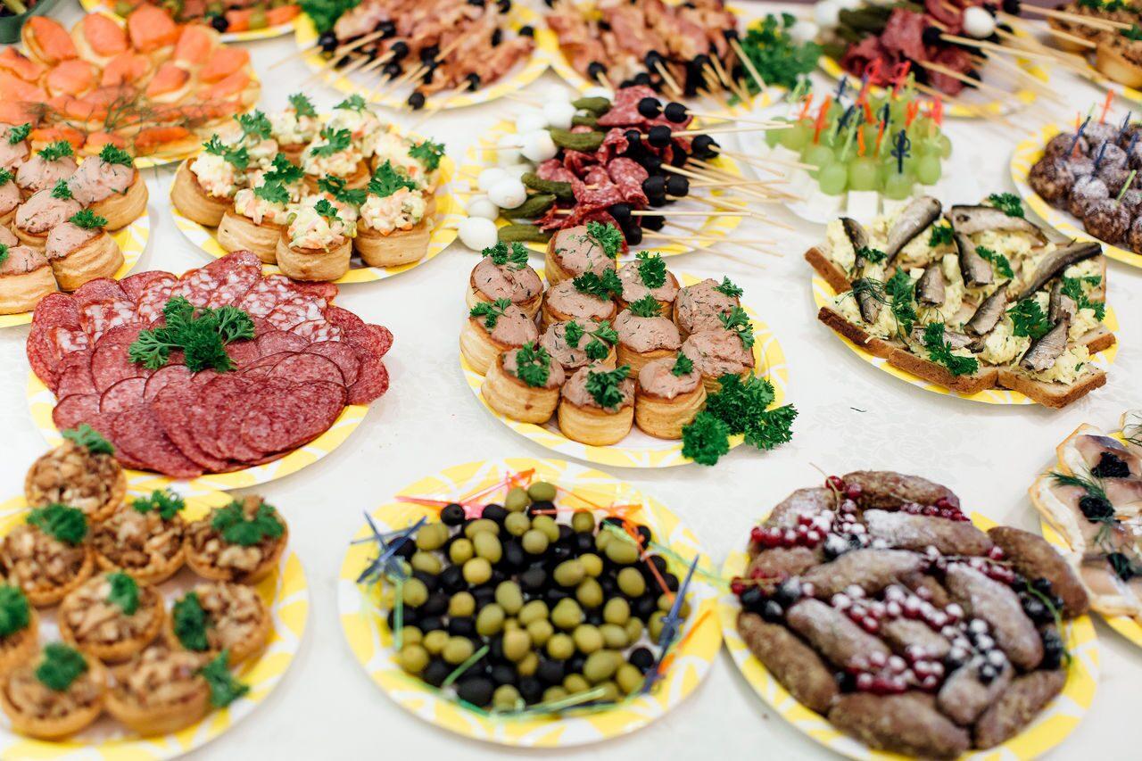Рецепты праздничных закусок с фото, вкусные